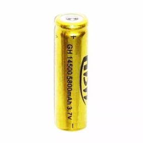 Kit 3 Bateria 3.7v Li-ion 14500 5200mah Recarregavel