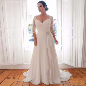 Vestido corte imperio para novia