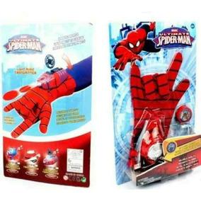 Guante Spiderman Lanza Tazos