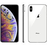 Iphone Xs Max Prata 256gb Ios12 4g + Wi-fi Câmera 12mp -appl