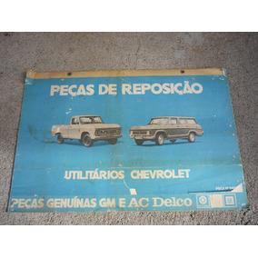 Chevrolet Brasil Catálogo De Peças Antigo