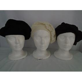Boina Gorra De Cuero Negra - Accesorios de Moda en Mercado Libre Uruguay f11577b7660