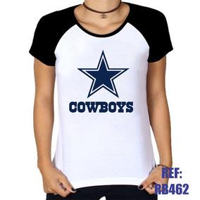 e52db671a0d4b Camiseta Dallas Cowboys - Camisetas e Blusas para Feminino no ...