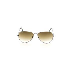Oculos De Sol Ray Ban 3025 Aviator Grafite Lente Verde G15 - Óculos ... 9cae030af5