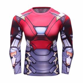 Playera Superheroes Gym Iron Man