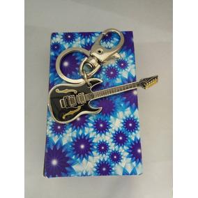 Chaveiro Metal Instrumento Musical Guitarra
