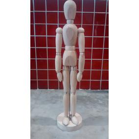 Muñeco Articulado De Madera Ikea Original