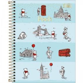 3499111fdd Kit Cadernos Pooh - Cadernos no Mercado Livre Brasil