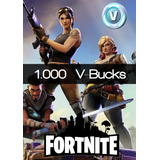 1000 V-bucks Fortnite Recarga Directa
