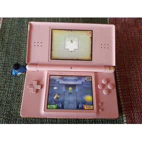 Nintendo Ds Lite Console Rosa Leia O Anuncio A1