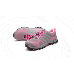 Zapatos De Seguridad Mujer + Plantilla Anatomic Gratis!