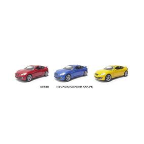 Miniatura Hyundai-genesis Coupe 1/32 Três Cores Kti 6 Pçs.