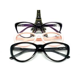 018362c376160 Armação De Óculos Bl-br (+1.25) Descanso Perto Lentes Grau