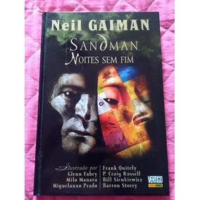 Sandman Noites Sem Fim Capa Dura Panini Neil Gaiman