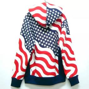 3d4657d810 Moletom Capuz Usa Bandeira Eua Estados Unidos Gringa Luxo  1