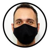 Máscara De Pano Reutilizável Dupla Camada - 1 Pç