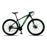 Bicicleta Xlt Aro 29 Quadro 17 Alumínio 21 Marchas Suspensão