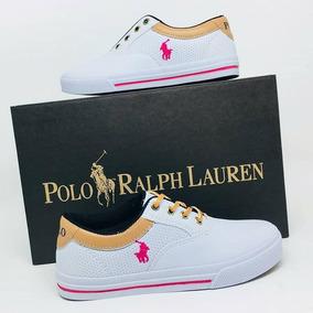 9cd2db69ffb42 Sapatênis Ralph Lauren para Masculino Branco no Mercado Livre Brasil