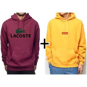 Bobojaco Lacoste Jaqueta Masculina Blusa Com Fone Bombojaco. 6 vendidos ·  Blusa Moletom Kit Lacoste + Supreme Promoção M.h a40c5f5e93