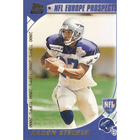 2000 Topps Nfl Europe Prospects Aaron Stecker Rb Claymores 06b5c6f7864