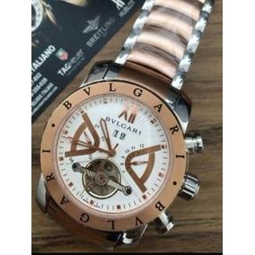 d3265075f0d Relogio Bvlgari Prata Com Rose - Joias e Relógios no Mercado Livre ...