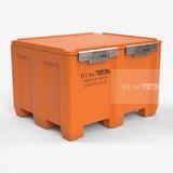 Container Cofre De Carga 700 Litros Paredes Duplas