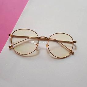 Armação De Óculos Nerd Básica Geek Redonda Round Vintage Re. R  120 2916c6f28b
