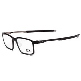 96a8077c40fec Óculos De Grau Oakley Ox8097 0254 Steel Line - Original. Paraná · Armação  Oakley Ox8097 01 Preto Fosco Tam. 54 Original + Nf