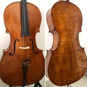 Violoncelo 4/4 Cópia Stradivarius Profissional Oficina