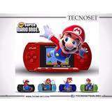 Consola Portátil Pvp Original Cientos De Juegos - Mario Bros