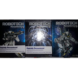 Robotech Primera Generacion Completa Dvd Remasterizada