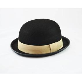 Chapéu Coco Chaplin Laranja Mecânica - Acessórios da Moda no Mercado ... f334b454504