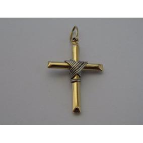 Medalha De Ouro 18k Crucifixo Promoçao Pingente - Joias e Relógios ... b3f1e37541