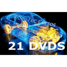 Curso De Mecânica Em Vídeo Aulas 21 Dvds Mais De 55 Horas