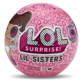 Muñecas L.o.l. Surprise Lil Sister Serie 4-1a Originales