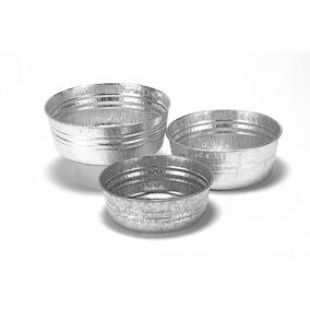 3 Jicaras De Lamina Galvanizada - 1, 1.25 Y 2 Litros - Ideal