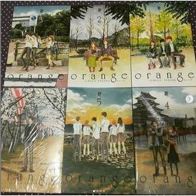 Orange Coleção Completa Volumes 1 Ao 6 - Frete Grátis