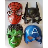 20 Máscaras - Homem Aranha Huck Capitão América Batman