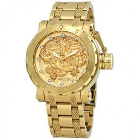 Relógio Invicta Coalition Forces Cristal De Ouro- 26511