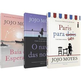 Lote 03 Livros Novos Jojo Moyes Conforme Foto