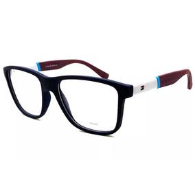 Armacao Oculos Acetato Armacoes Tommy Hilfiger - Óculos no Mercado ... b69d94407d
