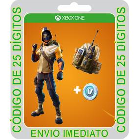 Fortnite Pacote Atacante Do Cume Xbox One Cod - 25 Dígitos