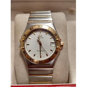 71f186aca9f2 Reloj Omega Constellation Caballero Cuarzo En Acero Y Oro