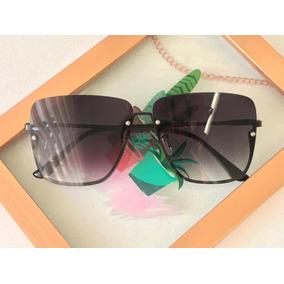 Oculos De Sol Feminino Com Armação Branca - Óculos no Mercado Livre ... efca807b20