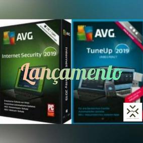 Avg Anti-vírus E Pc Tuneup 2019 Promoção + 5 Pcs + Suporte
