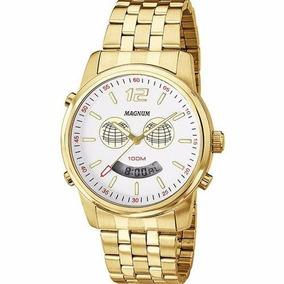 4b2d503e112 Relógio Magnum Globinho Mg 10335m - Relógios De Pulso no Mercado ...