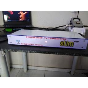 Transmissor Tv 25 Wats Uhf Analogico