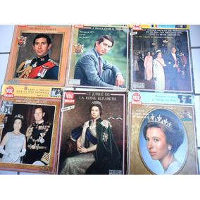 6 Revistas Importadas (monarquia Inglesa) Rainha Elizabeth