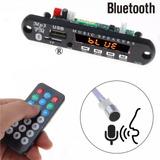 Modulo Adaptador, Usb, Microsd, Fm, Bluetooth, Microfono