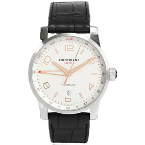 e659aecd7d4 Relógio Montblanc 109136 Timewalker Gmt Automatico Original